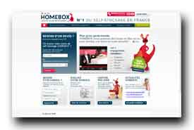 screenshot de www.homebox.fr