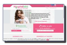 screenshot de www.hospitalidee.fr