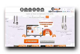 screenshot de www.icuisto.fr