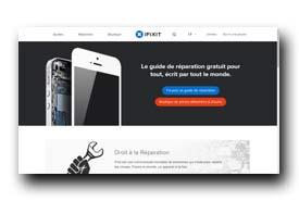 screenshot de fr.ifixit.com