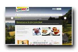 screenshot de www.ilovemeat.fr