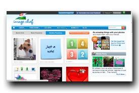 screenshot de www.imagechef.com