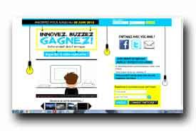 screenshot de www.innovezbuzzezgagnez.com