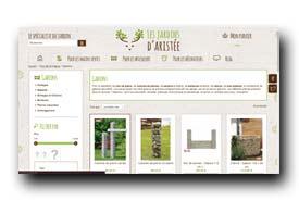 screenshot de www.lesjardinsdaristee.com/13-gabions