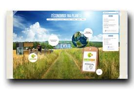 screenshot de www.jeconomisemaplanete.fr