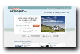 screenshot de www.jelouemoncampingcar.com