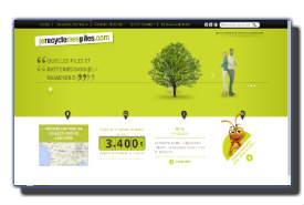 screenshot de www.jerecyclemespiles.com