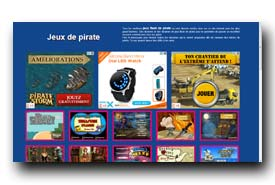 screenshot de www.jeux-de-pirate.com