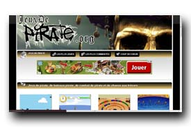 screenshot de www.jeuxdepirate.org