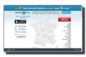 screenshot de www.jeveux1truc.fr