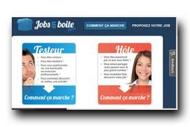 screenshot de www.jobsenboite.com