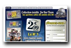screenshot de www.collection-joebarteam.com