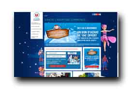 screenshot de jouets.magasins-u.com