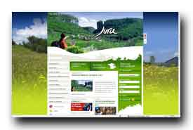 screenshot de www.jura-tourisme.com