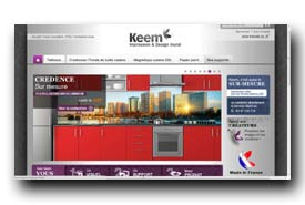 screenshot de www.keem.fr