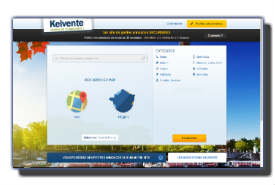 screenshot de www.kelvente.fr