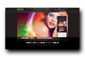 screenshot de www.kikocosmetics.fr