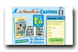 screenshot de www.collection-patrouilledescastors.com