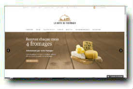 screenshot de www.laboitedufromager.com