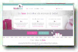 screenshot de www.laboxdesbebes.com