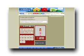 screenshot de www.lacartoonerie.com/widgets/avatar_widget.php