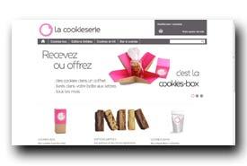 screenshot de www.lacookieserie.com