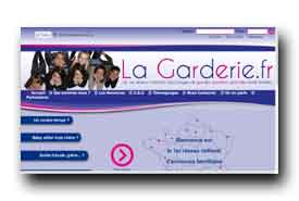 screenshot de www.lagarderie.fr