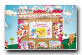 screenshot de www.lalaloopsy.com