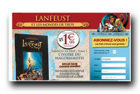 screenshot de www.collection-bd-lanfeust.com