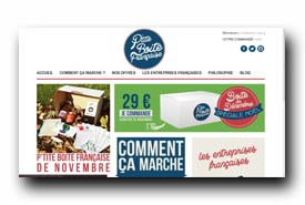 screenshot de www.ptiteboitefrancaise.fr