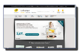 screenshot de www.laposte.fr/boutiqueducourrier