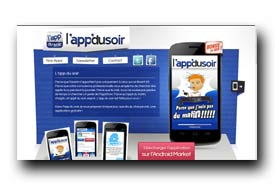 screenshot de www.appdusoir.fr