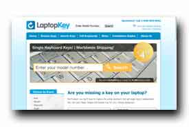 screenshot de www.laptopkey.com