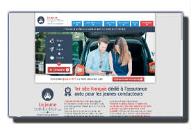 screenshot de le-jeune-conducteur.com