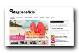 screenshot de www.le-mag-beneficio.fr
