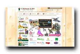 screenshot de www.bonhommedebois.com/boutiques-le-bonhomme-de-bois