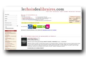 screenshot de www.lechoixdeslibraires.com