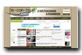 screenshot de www.le-coin-hs.com