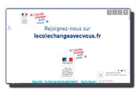 screenshot de www.lecolechangeavecvous.fr