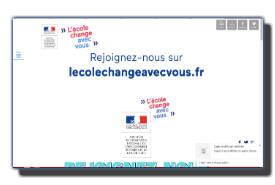 screenshot de www.lecolechangeavecvous.fr