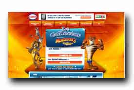 screenshot de www.lecollectormadagascar3.fr