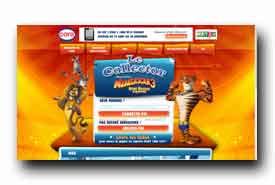 screenshot de www.lecollectormadagascar3.fr
