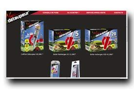 screenshot de www.detaupeur.com