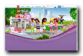 screenshot de www.legofriends.fr