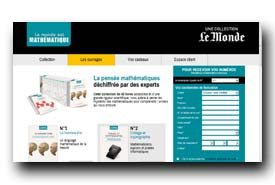 screenshot de www.lemondeestmathematique.fr