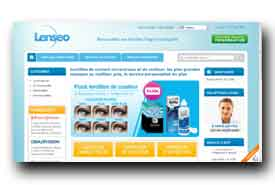 screenshot de www.lenseo.com/fr/