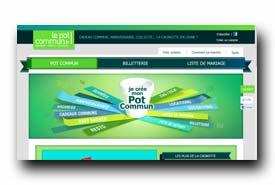 screenshot de www.lepotcommun.fr