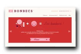 screenshot de www.lesbonbecs.com