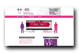 screenshot de www.lesemploisdavenir.gouv.fr