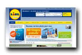 screenshot de www.lidl-photos.fr